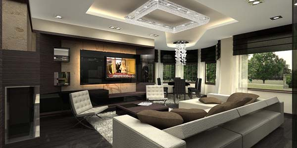 Luxurious Penthouse Apartment with Breathtaking Colour Composition  Freshomecom