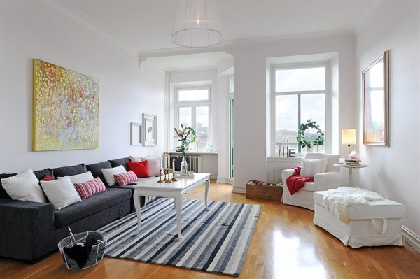 scandinavian living room furniture black and white tile floor 30 designs with a mesmerizing effect collect this idea