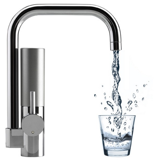 kitchen faucet filter space saving innovative water filtering mywell freshome com
