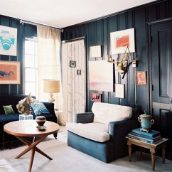Dark Turquoise Living Room Walls Indian Interiors Pictures 30 Exquisite Black Wall For A Modern Home Freshome Com Collect This Idea
