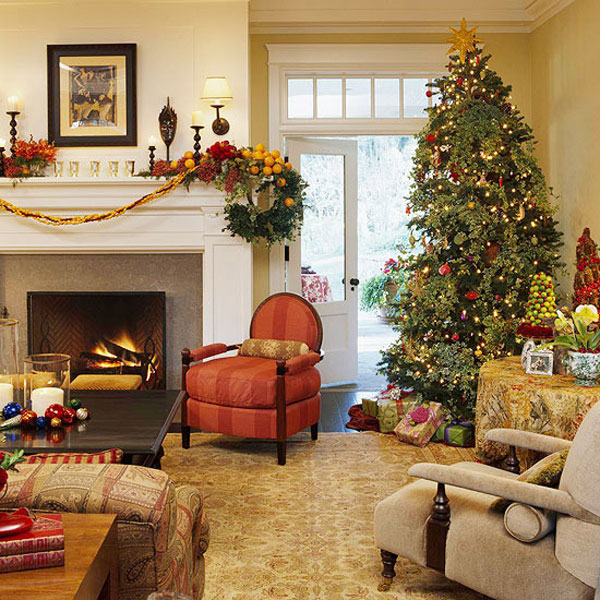 decorate small living room for christmas wooden chairs designs 33 decorations ideas bringing the spirit into collect this idea