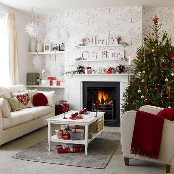 Country Living Christmas Decorating Ideas