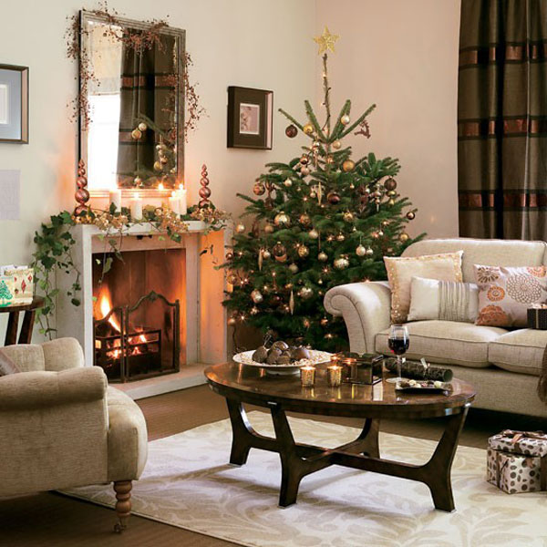christmas decoration ideas for small living room how to decorate 33 decorations bringing the spirit into collect this idea