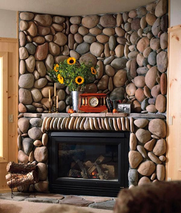 pictures of living rooms with stone fireplaces decorating ideas room colours 30 fireplace for a cozy nature inspired home freshome com collect this idea