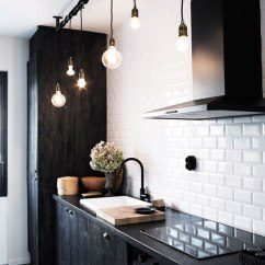 Subway Tile For Kitchen Sink Black 30 Successful Examples Of How To Add Tiles In Your Collect This Idea
