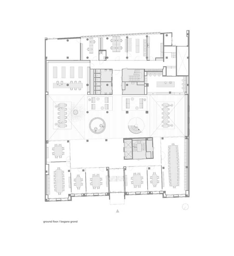 Sophisticated Law Firm Design by Hofman Dujardin: The