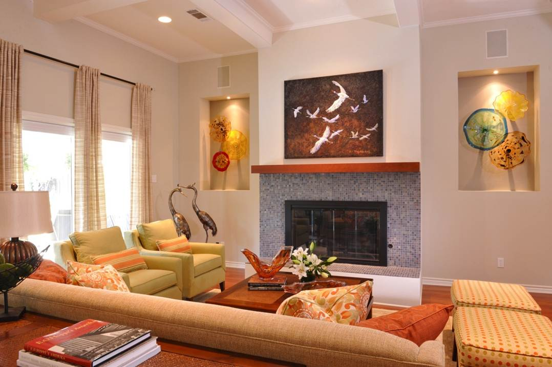 living room without coffee table ideas sofa fabric how to make your house a home spending any money freshome com
