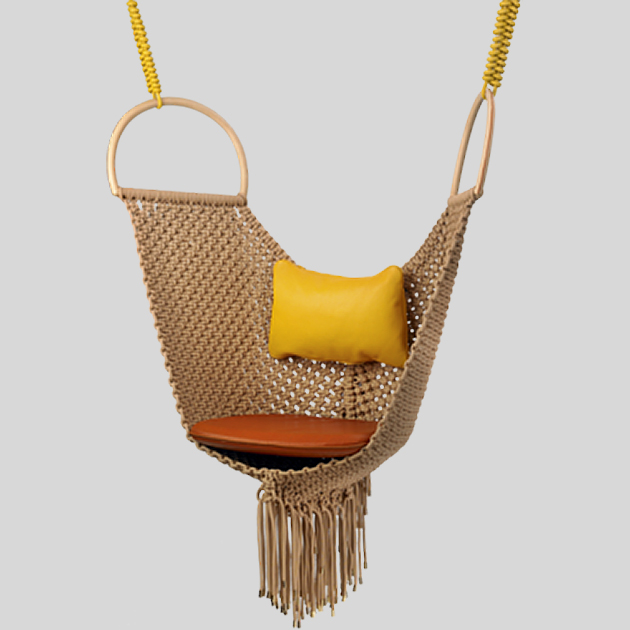 swing chair patricia urquiola wheel basketball s for louis vuitton objets nomades curtsey of particia