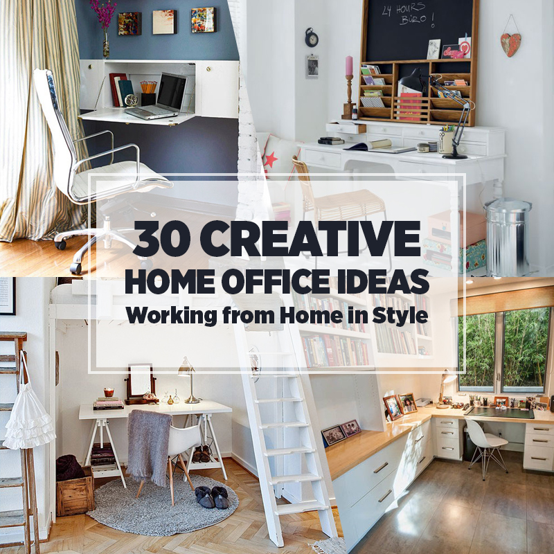 30 Home Office Ideas  Work From Home in Style  Freshomecom