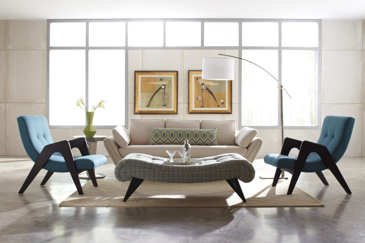 modern chairs living room ideas 10 easy ways to add a mid century style your home 8 paint white is right