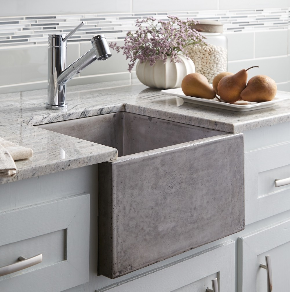 cement kitchen sink chairs with rollers stylish concrete sinks designed to energize the and bath collect this idea nsb1515a ventana