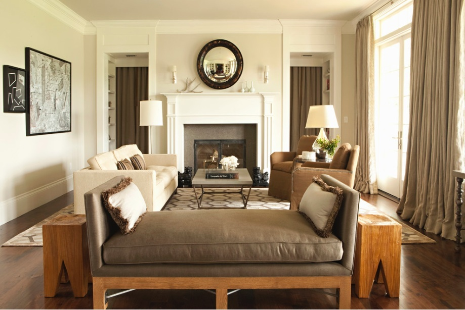 interior design ideas for living rooms beach room how to make your home look like you hired an designer add big statement furniture pieces