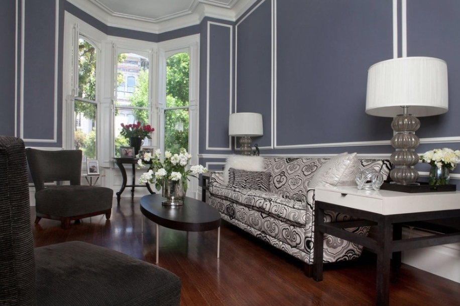 paint colors for living rooms with white trim table and chairs room how to create modern victorian interiors freshome com black blue