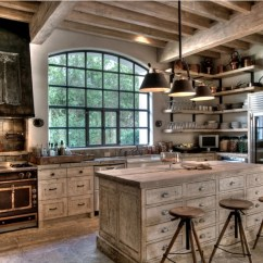 Kitchen Design Ideas Images Small Islands For Sale 10 Rustic Designs That Embody Country Life Freshome Com White Washed