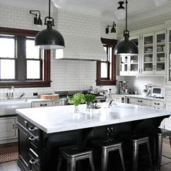 Planning A Kitchen Island Custom Hoods 60 Ideas And Designs Freshome Com Collect This Idea Countertop Black White
