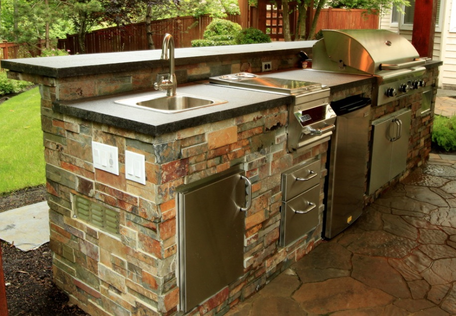 summer kitchen ideas memory foam mat costco beautiful outdoor for freshome com collect this idea sink