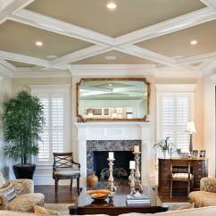 Paint Options For Living Room Southwest Rooms Ideas The Heart Of Home Create Contrast With Ceiling