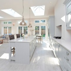 White Kitchen Floor Corner Bench Flooring Ideas And Materials The Ultimate Guide Laminate Wood