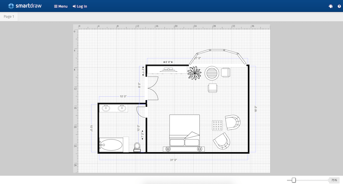 kitchen planner online coffee rugs 10 best free virtual room programs and tools smart draw