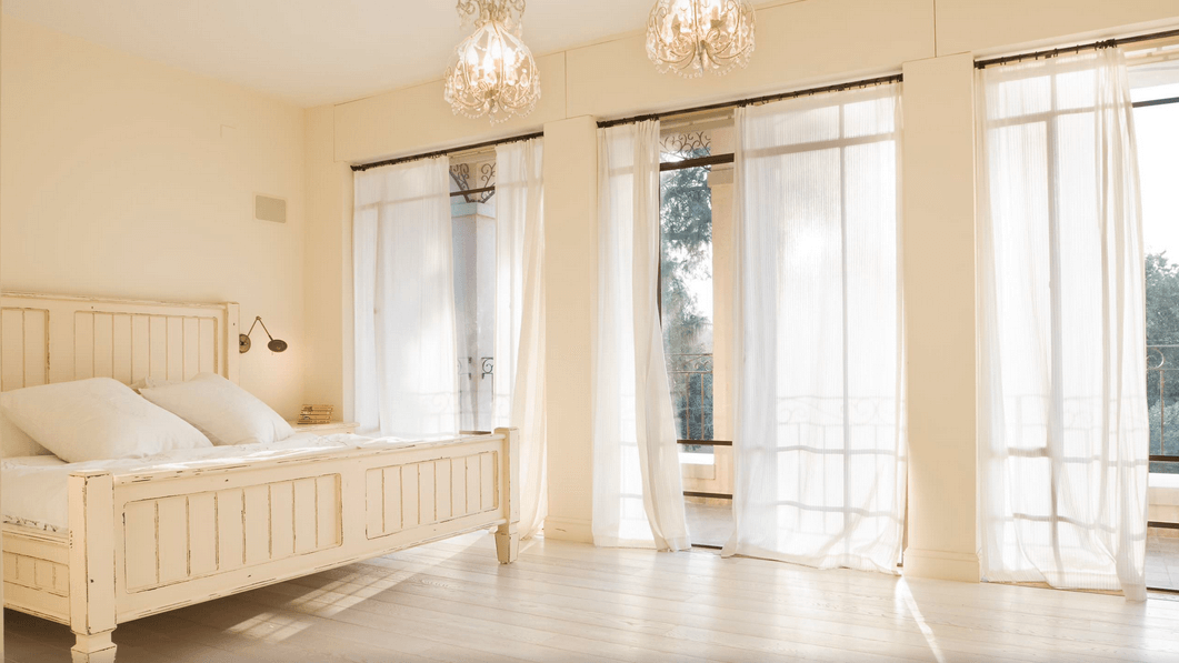 living room window curtains ideas bed in treatment for every the house freshome com collect this idea rustic white and sheer