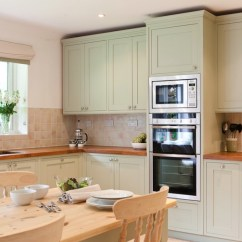 Repaint Kitchen Cabinets High End Sinks How To Paint Your Freshome Pale Green Painted