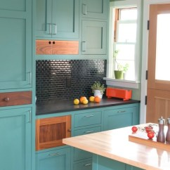 Kitchen Cabinet Color Gray Tile How To Paint Your Cabinets Freshome Teal Green Painted