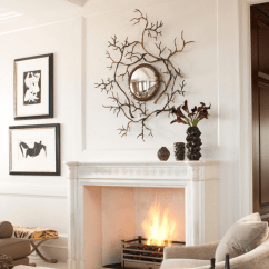 Living Room Mantel Decor Small Seating Solutions Decorating Ideas Freshome Inspired By Nature