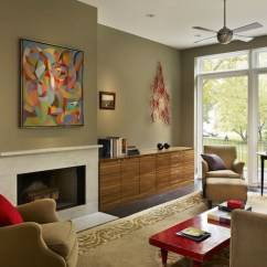 Living Room Painting Color Ideas Modern White Set 5 Hot Paint Freshome Collect This Idea Olive