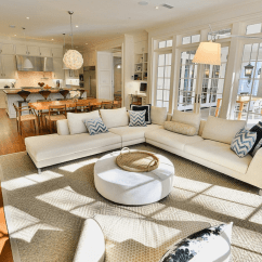 Living Room Space Table Sets Open Floor Plans A Trend For Modern Chic Plan