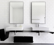 bathroom mirrors contemporary
