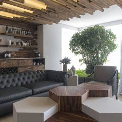 Modern Wooden Ceiling Design For Living Room 2016 The Church Torquay Wood Warms Mexico Apartment In Creative Ways Collect This Idea 3