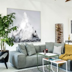 Contemporary Artwork Living Room Ideas To Decorate Your Bachelor Pad In San Francisco Showcases Modern Freshome Apartment Artworks