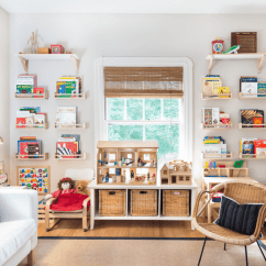 Kids Living Room Furniture Bright Lighting 28 Ideas For Adding Color To A Rooms Neutral1