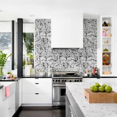 Wallpaper For Kitchen White Cabinets Lowes Here Are The 2017 Trends You Need To Check Out Is Back These