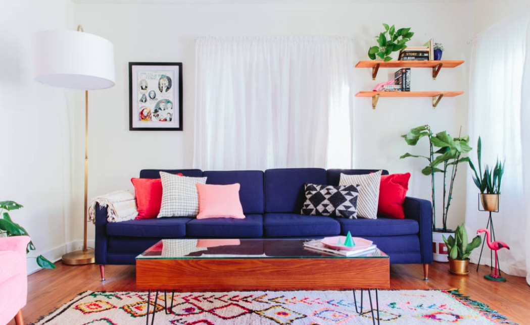 latest design living room 2018 big rug for the top 5 interior trends you need to know about bold colors