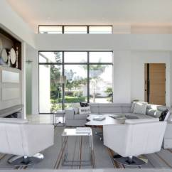 Interior Design Living Room Modern Contemporary Decor Black Couch Vs What S The Difference Freshome Com Interiors Like This Feature Straighter More Austere Lines While Tends To Incorporate Curves