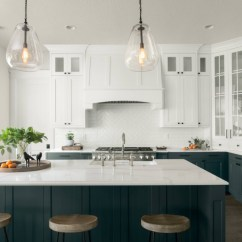 Kitchen Cabnet New Sink Installation Here S How To Get In On The Two Toned Cabinet Trend