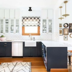 Different Color Kitchen Cabinets Kidkraft Grand Espresso Corner 53271 Here S How To Get In On The Two Toned Cabinet Trend Bold