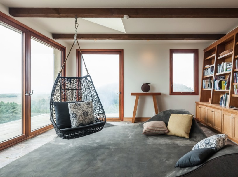 swing chairs for bedrooms folding chair that rocks you totally need these hanging and swinging beds in your life basket freshome com