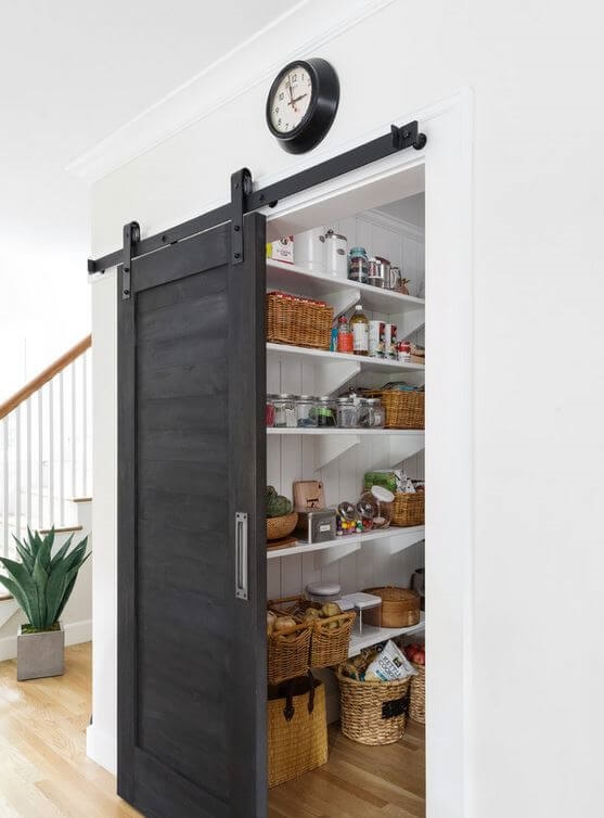 kitchen pantries cabinet replacement for every home style freshome com barn door