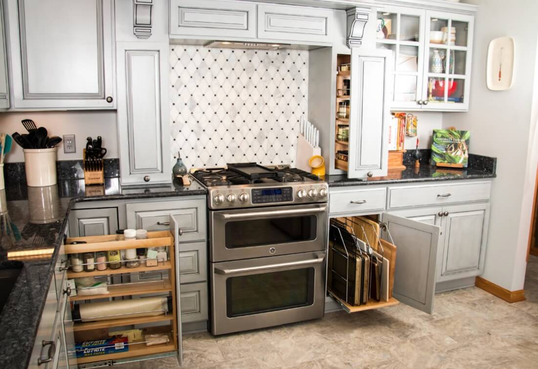 storage cabinets kitchen under cabinet lighting 5 ideas for fold away freshome com
