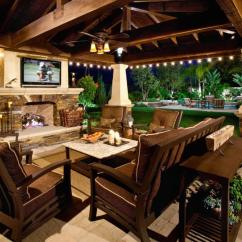 Outdoor Living Room Ideas Tips To Decorate Our 20 Favorite For Spaces Freshome Com Tv On Wall