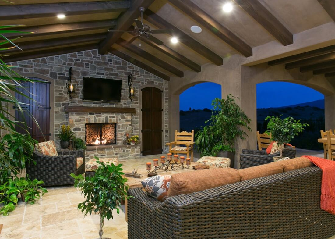 outdoor living room ideas white furniture images our 20 favorite for spaces freshome com with tv