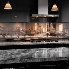 Kitchen Back Splash Ventilation Options Cool Backsplashes To Whet Your Appetite Freshome Com A Photo Of The City S Skyline Is Inspiration For This Spectacular Backsplash In Melbourne Image Visual Resource