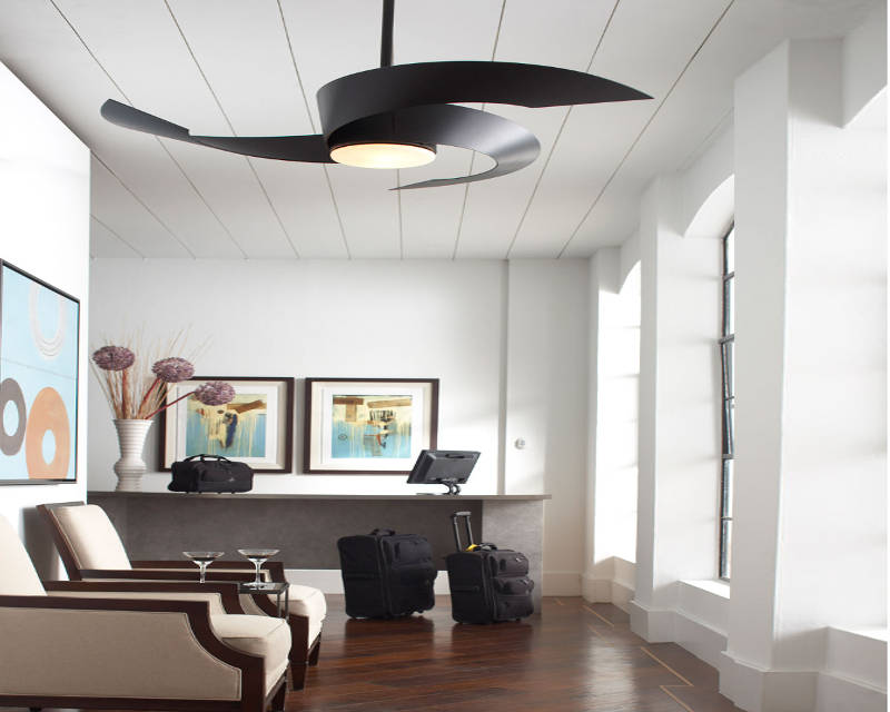 lighting ideas for living room with ceiling fan using carpet tiles keep it cool these 16 gorgeous modern fans