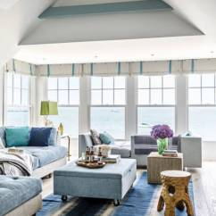 Beach Style Decorating Living Room Decor For Walls Have An Endless Summer With These 35 House Ideas Them