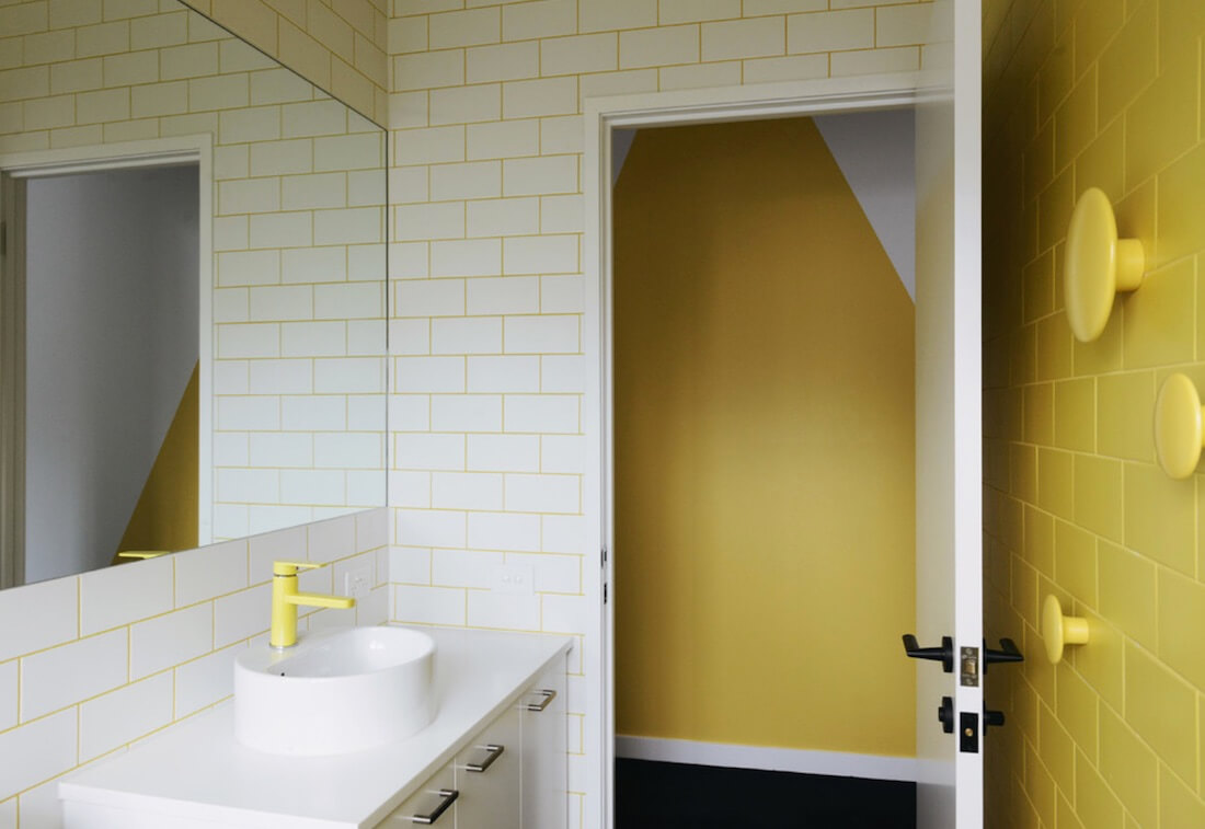 Bathroom Grout 5 Ways To Work With Colorful Grout Freshome