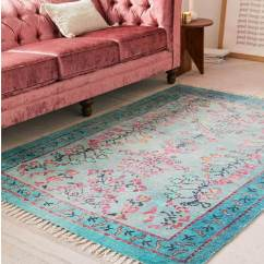 Rugs In Living Room Creative Ideas 12 Rug That Will Change Everything The Sammat Aqua Is A Stylish And Easy Update For Small Image Urban Outfitters