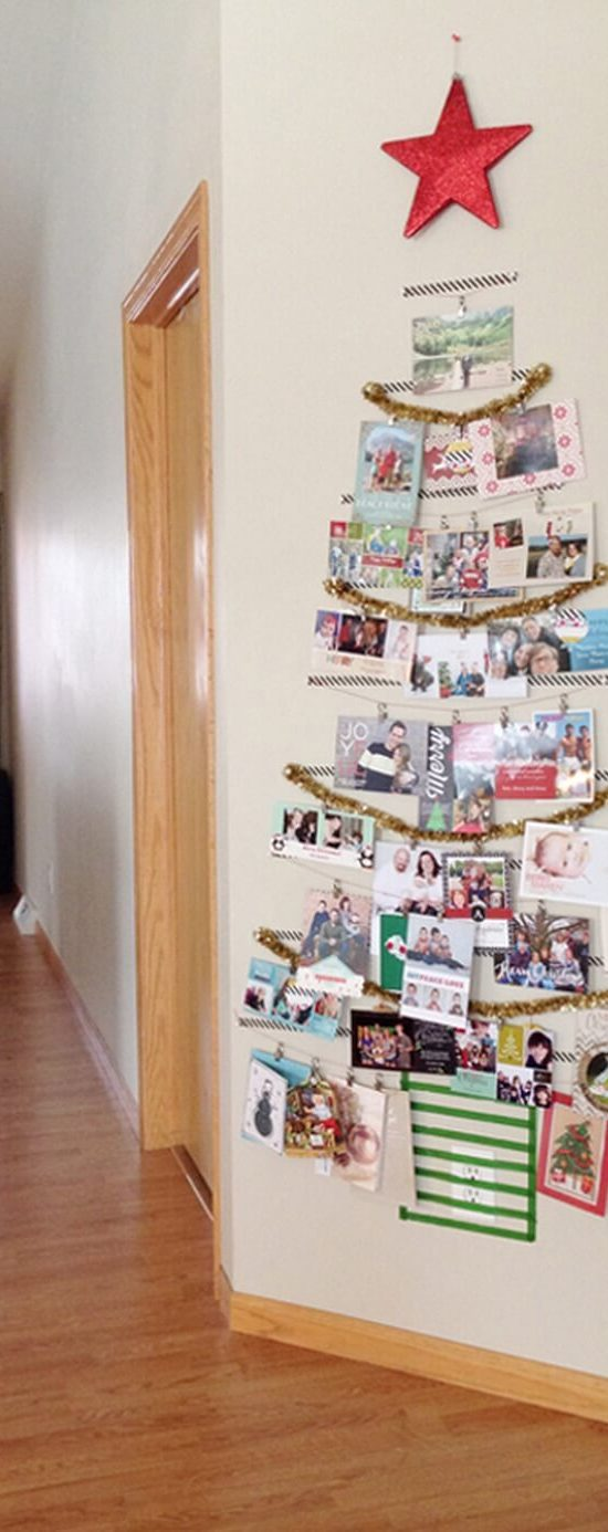 After Holiday Cleaning Card Tree