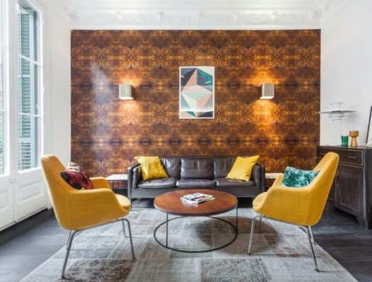 decorating with yellow furnishings